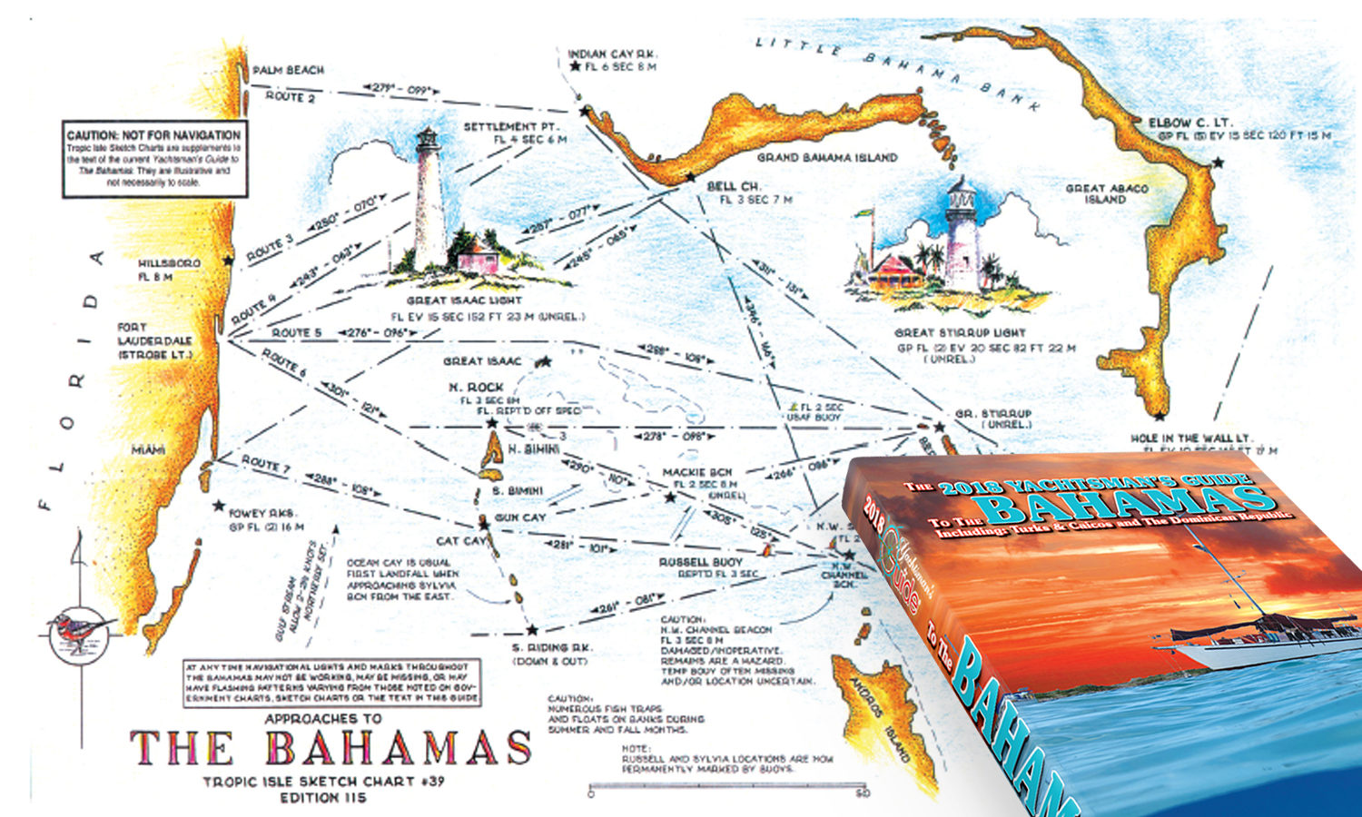 The 2018 Yachtsman's Guide to the Bahamas Is Now Available