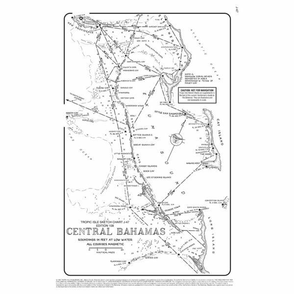 Central Bahamas Chart